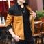 Pre Order เสื้อแจ็คเก็ตกันหนาวแขนยาว บุกำมะหยี่ด้านใน แต่งสีทูโทน แนวเกาหลี มี4สี thumbnail 3