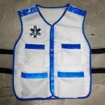 เสื้อกั๊กสีขาว EMS 1669 - น้ำเงิน