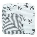 Mussalin Blanket (Grey) ผ้าห่มมัสลิน สีเทา