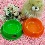 ชามกันมด ชามอาหารสุนัข ชามอาหารแมว กันมดได้ 100% สีเขียว