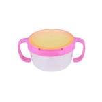 Anti spill bowl (Pink) ถ้วยกันหก สีชมพู