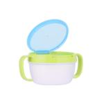 Anti spill bowl (Blue) ถ้วยกันหก สีฟ้า