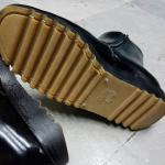 รองเท้าฮาฟหนังแท้ พื้นยางดิบ 7