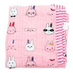 Mussalin Blanket (Pink) ผ้าห่มมัสลิน สีชมพู