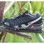 รองเท้า Salomon ดำ-เทา 40