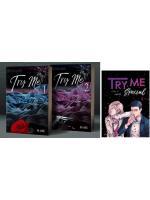 (วาย) Try Me เสพร้าย สัมผัสรัก ภาค ร้ายยั่ว 1-2 จบ + เล่มพิเศษ (รวม 3 เล่ม) / Mame :: มัดจำ 850 ฿, ค่าเช่า 170 ฿ (ทำมือ) B000016588
