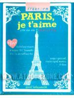 Paris, je t'aime ปารีส เฌอ แตม เสน่หาปารีส / สุพจน์ โล่ห์คุณสมบัติ :: มัดจำ 280 ฿, ค่าเช่า 56 ฿ (สนพ. ฟรีฟอร์ม) NF_FF_0001