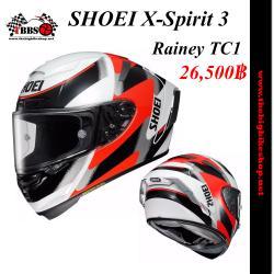 หมวกกันน็อคSHOEI X-Spirit 3 Rainey TC1