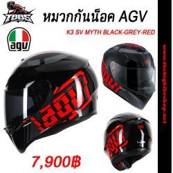 หมวกกันน็อค AGV K3 SV MYTH BLACK-GREY-RED