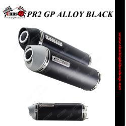 ท่อPR2 GP ALLOY BLACK