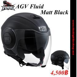 หมวกกันน็อค AGV Fluidฺฺ Matt Black