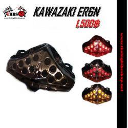 ไฟท้ายแต่งLED ER6N-Ninja650 ปี2012-15 (สีสโมค)