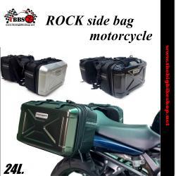 กระเป๋าคู่ข้าง ROCK side bag motorcycle RBB06 24L