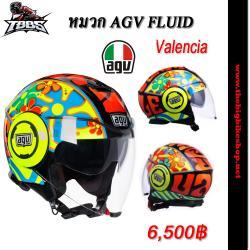 หมวกกันน็อค AGV Fluid Valencia