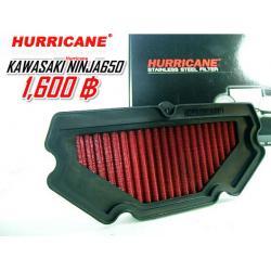 กรองใยผ้าสังเคราะห์ Hurricane for Ninja 650,ER6n