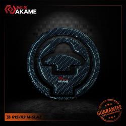 สติกเกอร์กันฝาถัง R15/M-slaz Pure carbon 100%