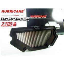 กรองสแตนเลส Hurricane for Ninja650,ER6N