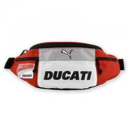 กระเป๋าคาดเอว DUCATI (ซิปดำ) #สีดำ/สีแดง
