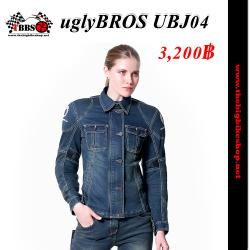 เสื้อการ์ด uglyBROS UBJ04 (สียีนส์น้ำเงิน) ผู้หญิง แท้