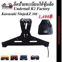 ติดทะเบียนใต้ซุ้มล้อ Ninja&Z 250-300 K2 Factory