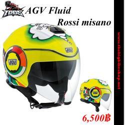 หมวกกันน็อค AGV Fluid Rossi misano