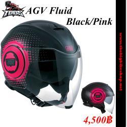 หมวกกันน็อค AGV Fluid ฺฺBlack Pink