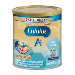Enfalac A+ Soy Care นมแอนฟาแลคเอพลัส สูตรถั่วเหลือง 366g.