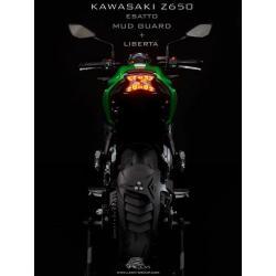 กันดีดหลัง Leno for Kawasaki Z650 +ที่ติดป้ายทะเบียนกันดีด LIBERTA