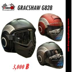 หมวกกันน็อค Gracshaw (กลาสชอร์) G828