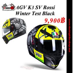 หมวกกันน็ค AGV K3 SV Rossi Winter Test Black