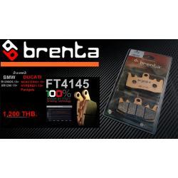 ผ้าเบรคหน้า BRENTA SINTERED BRAKE PADS สำหรับ (BMW,DUCATI) FT4145