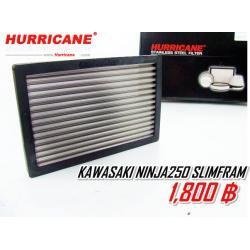กรองสแตนเลส Hurricane for นินจา 250-(2009-2012)
