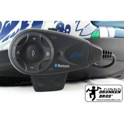 หูฟังบูทูธติดหมวก V5 intercom Bluetooth Headset