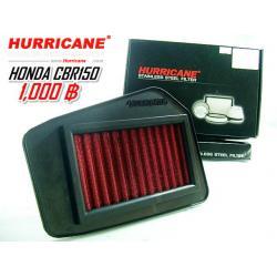 กรองใยผ้าสังเคราะห์ Hurricane for cbr150i