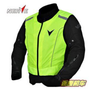 เสื้อกั๊ก NERVE #สีเขียวสะท้อนแสง
