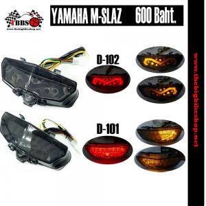 ไฟท้ายแต่ง Yamaha MSlaz โคมดำ D101,D102