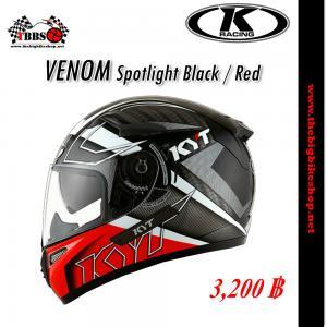 หมวกกันน็อค K-racing รุ่น Venom Sportlight