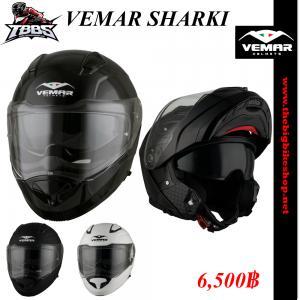 หมวกกันน็อค VEMAR SHARKI สีพื้น