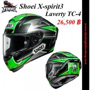หมวกกันน็อคSHOEI X-spirit3 Laverty TC-4