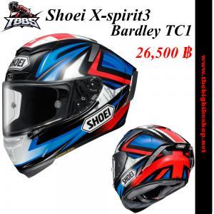 หมวกกันน็อคSHOEI X-spirit3 Bardley TC1