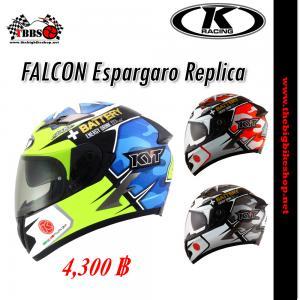 หมวกกันน็อค K-racing รุ่น FALCON Espargaro Replica