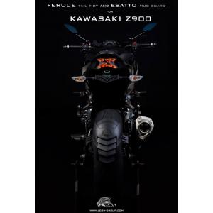 กันดีดหลัง Leno for Kawasaki Z900