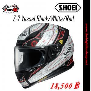 หมวกกันน็อค SHOEI Z-7 Vessel black/white/red