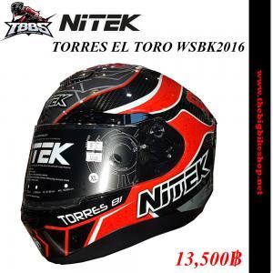 หมวกกันน็อค NiTEK P1 TORRES EL TORO WSBK2016