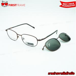 GUILCHY 100% TITANIUM and Polarized Clip On 644 C36