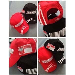 หมวก Ducati #สีดำ/สีแดง