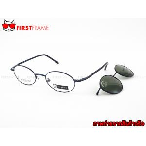 GUILCHY 100% TITANIUM and Polarized Clip On 664 C33