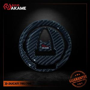 สติกเกอร์กันฝาถัง Ducati 795/796 Pure carbon 100%