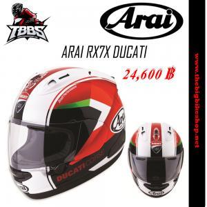 หมวกกันน็อค ARAI RX7X DUCATI