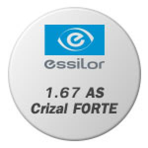 1.67 AS Crizal FORTE